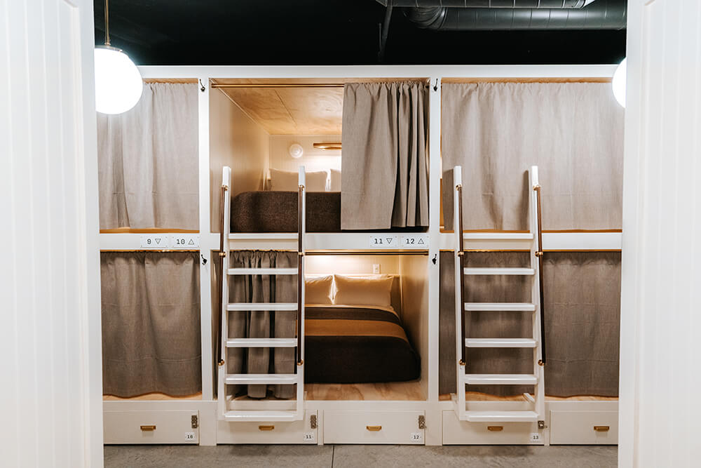 full bed unit upper lower cache house