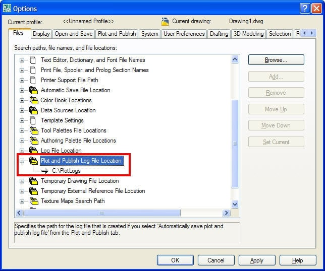 how to find logs in the shared drive location