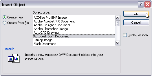 Inserting DWG's into MS Word or PowerPoint - The CAD Geek