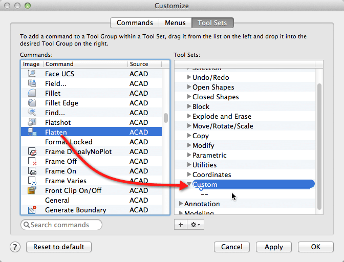 Recreating the FLATTEN Command in AutoCAD for Mac - The CAD Geek