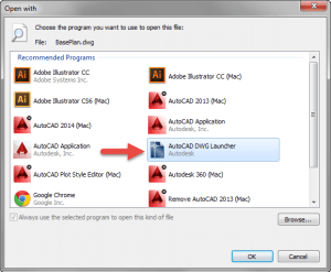Windows Open With Dialog