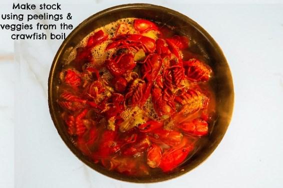 crawfish boil stock