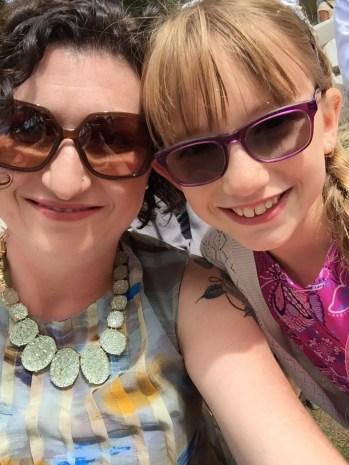 Melissa & Abby selfie