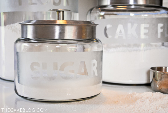 kitchen canister cooking in the games diy revitalize your canisters etched glass cansiters an easy upgrade thecakeblog com