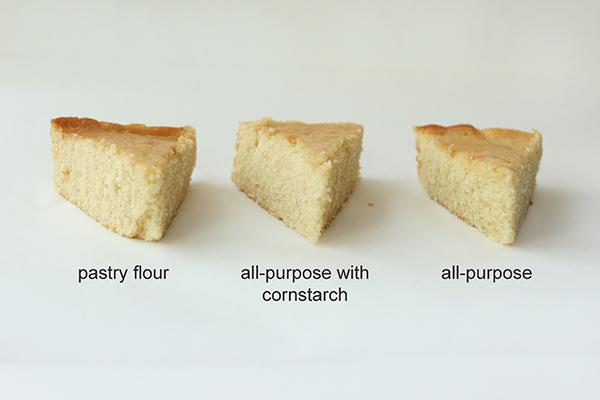 Image result for cake flour vs regular flour