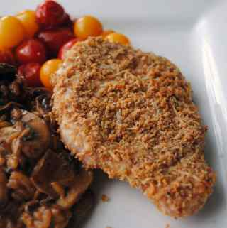 Breaded Parmesan Pork Chops