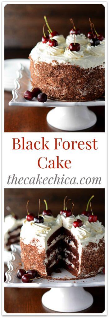 Black Forest Cake for Pinterest
