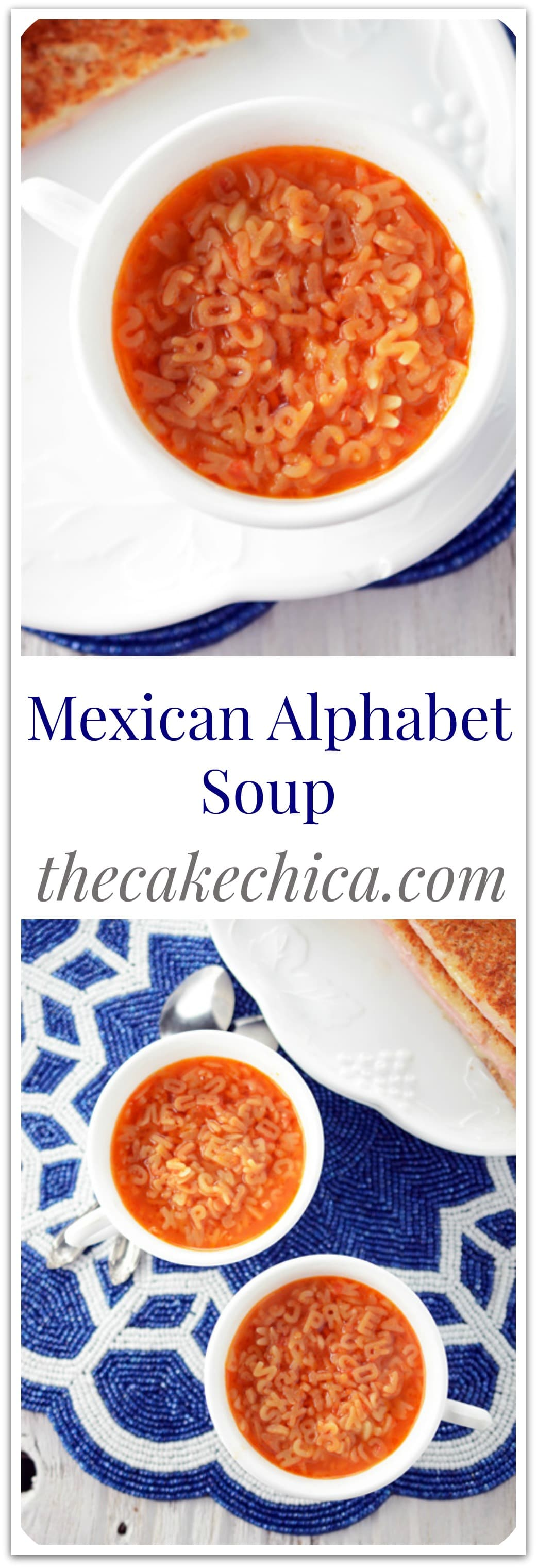 Simple, easy Mexican Alphabet Soup