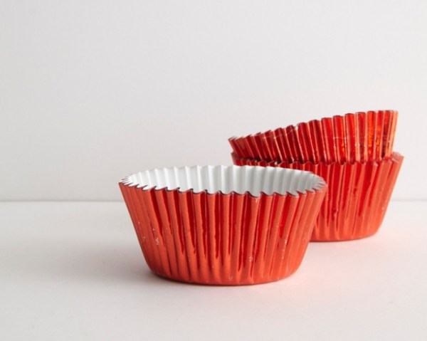 Red Foil Baking Cups Set of 30 Cakegirls