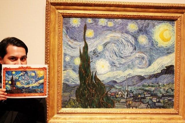Rudy en el Museo MOMA de Nueva York