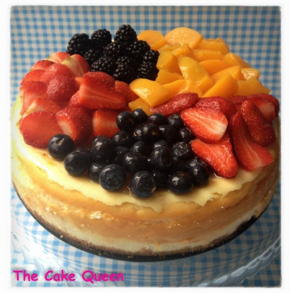 Cheesecake con frutas