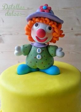 Tarta de Erika de Detalles dulces para el reto de carnaval