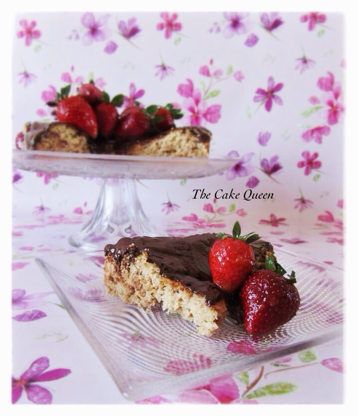 Tarta suiza de avellanas, una tarta muy linda, no la dejes de hacer