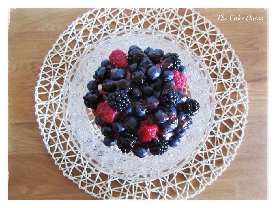 Victoria Sponge con frutas
