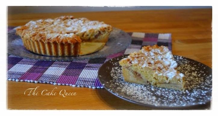 """Tarta de manzana polaca """"szarlotka"""", una tarta perfecta para desayunar o merendar"""