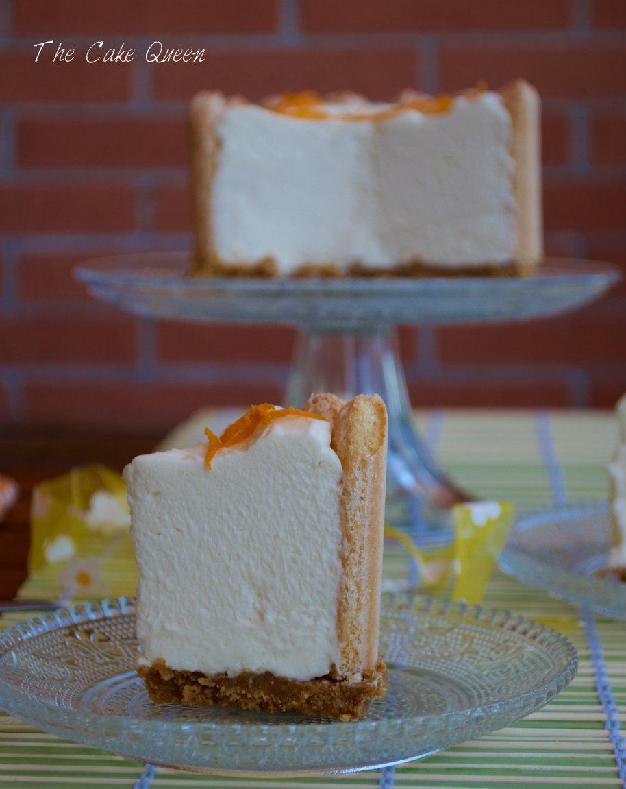 tarta fría de pomelo curd y soletillas