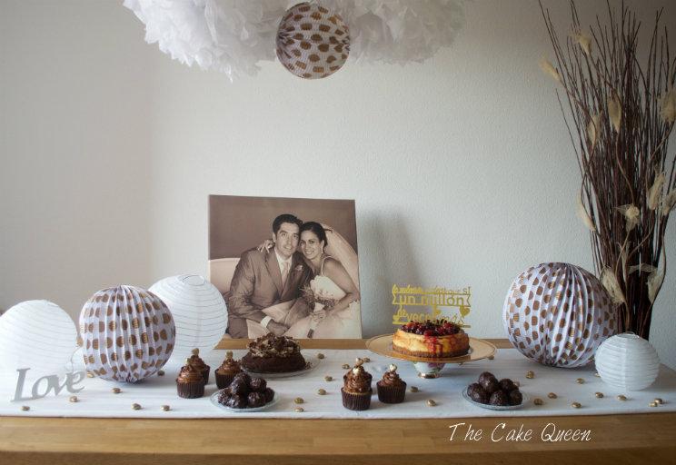 Mesa dulce para celebrar nuestro 10mo. aniversario de bodas