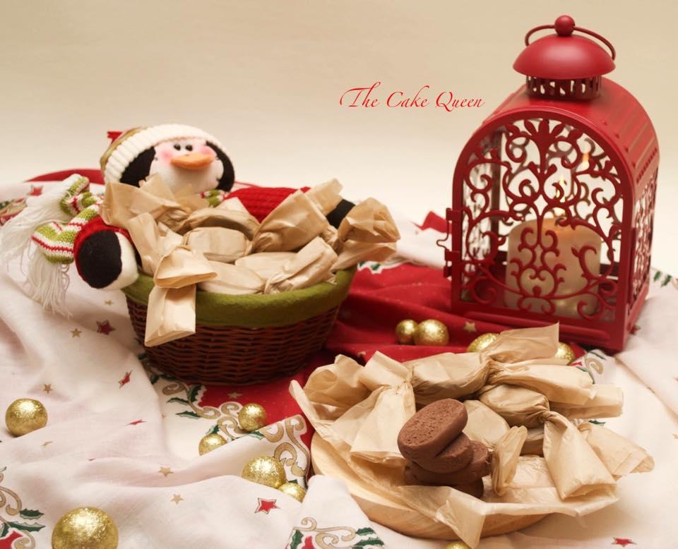 Mantecados caseros: mantecados de nutella