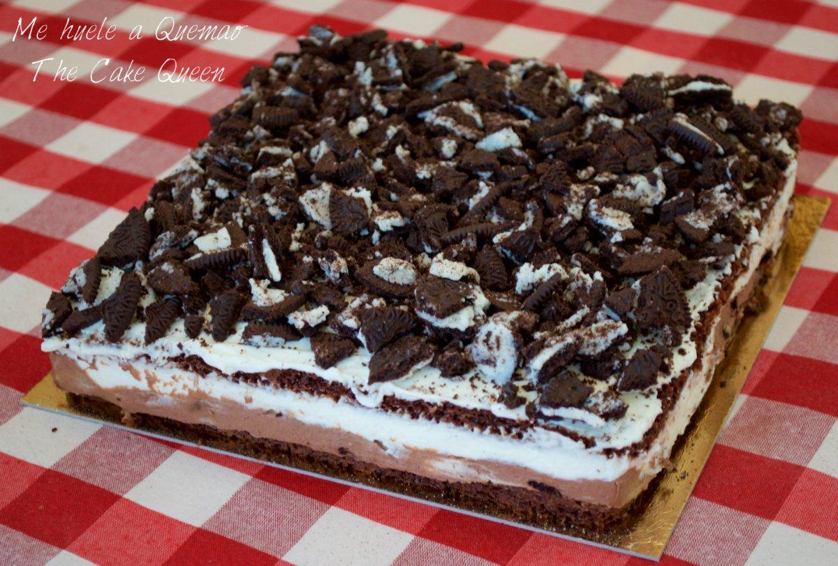 Tarta de chocolate y oreo pecaminosa