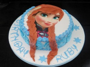 Frozen Anna-Birthday-cake