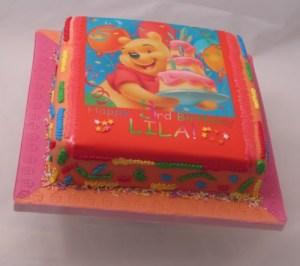 Confetti Winnie the Pooh Cake