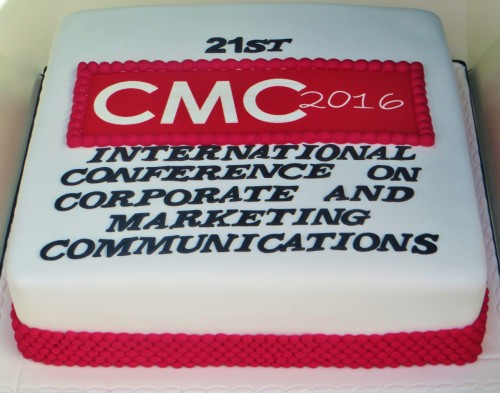 Corporate Conference cake