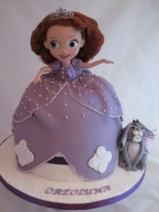 Princess Sofia Doll Cake
