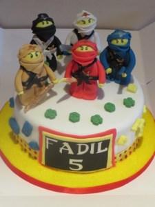Lego Ninjago Cake Toppers