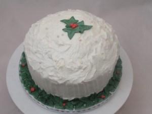 Moist Carrot Christmas cake
