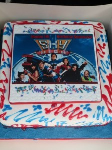Sky High Birthday Cake