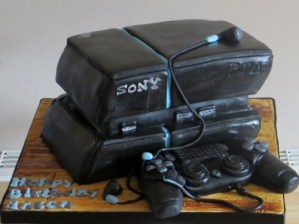 Sony PS4 Cake with controller