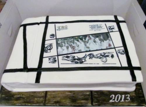 Yearbook Cake