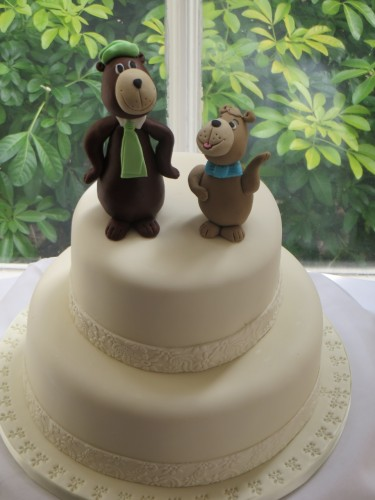 Yogi and Booboo 2-tier Cake