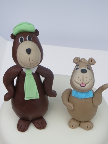 Yogi and Booboo bear Cake Toppers