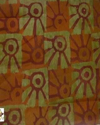 Batik Print – Mustard