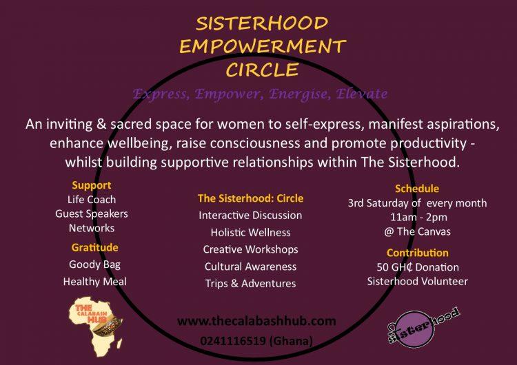 Sisterhood Info Poster