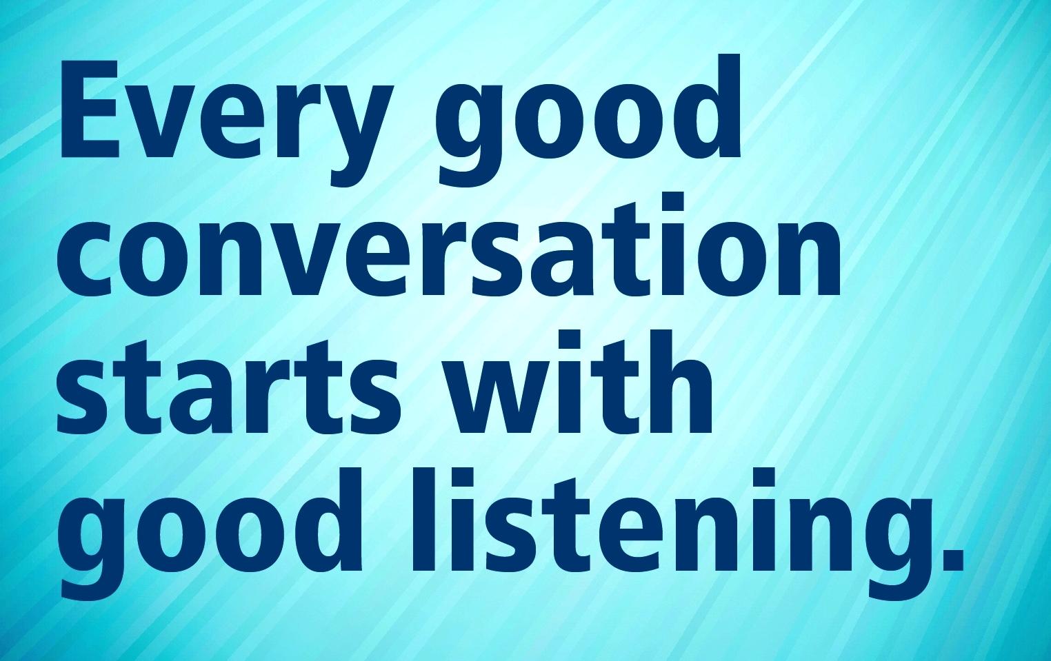Effective Listening Skills Training