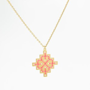 The Camelia bijoux - Collier Badi corail 1