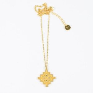 The Camelia bijoux - Collier Badi jaune 2
