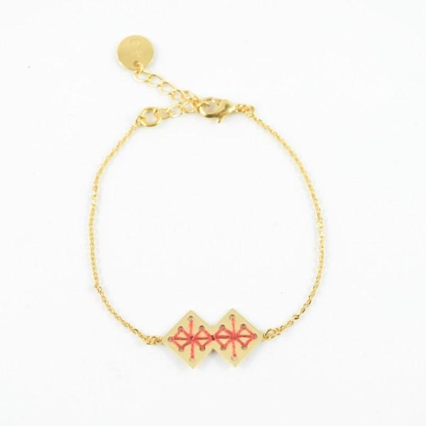Bracelet Chouara terracotta