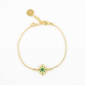 Bracelet Menara vert sapin