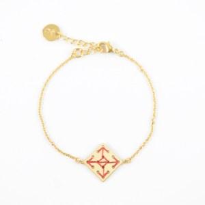 Bracelet Socco terracotta