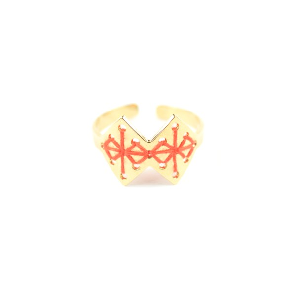 Bague Chouara orange