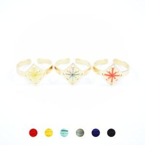 Bague Ménara 6 couleurs