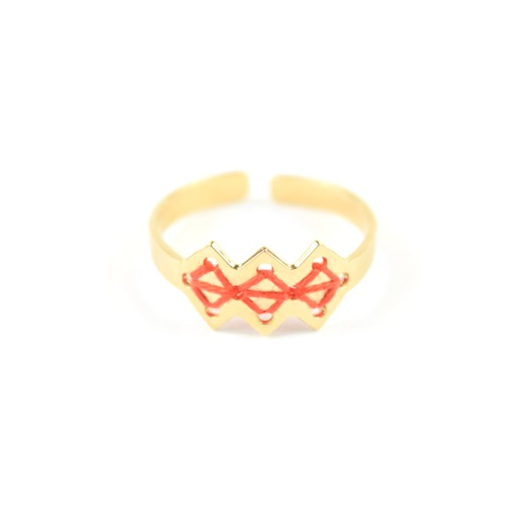 Bague Mellah orange