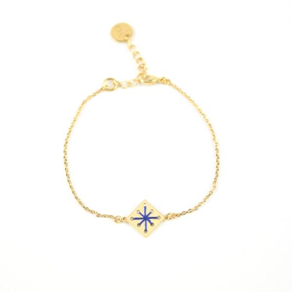 Bracelet Ménara bleu majorelle