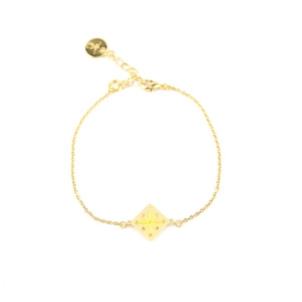 Bracelet Ménara jaune