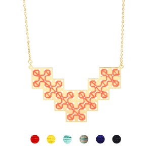 Collier Bou Inania 6 couleurs