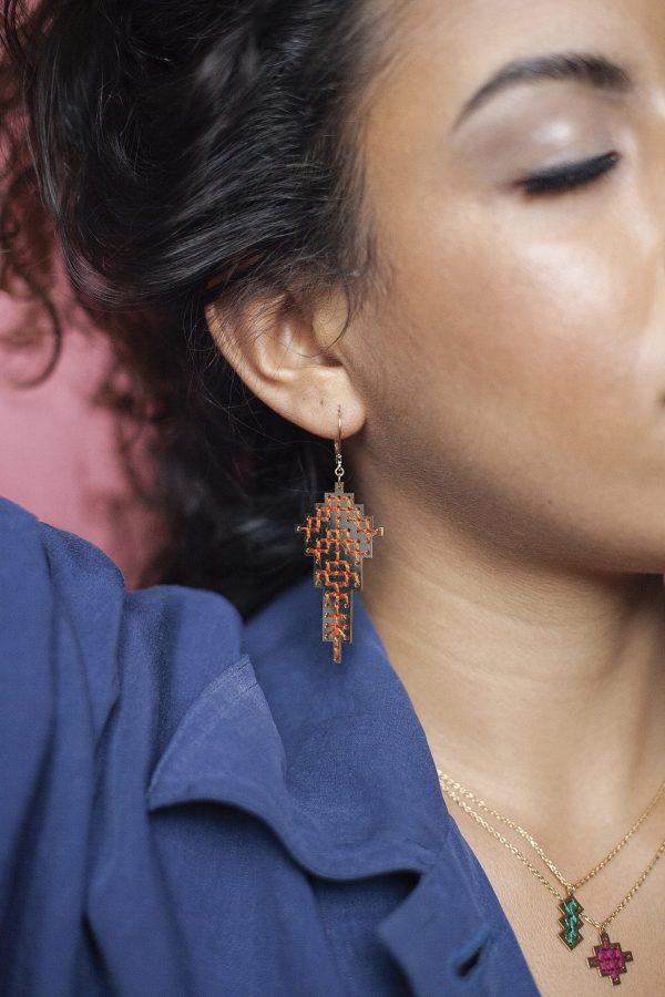 Boucles d'oreilles Safi