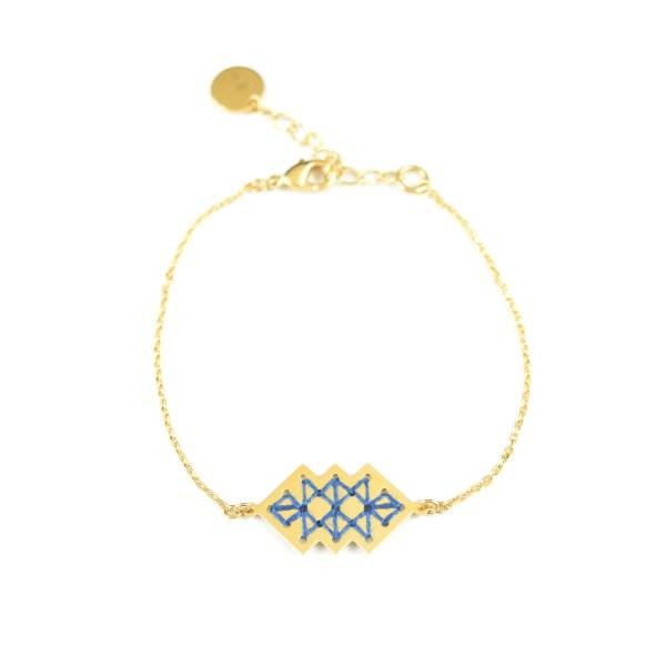 Bracelet Dadès bleu jean